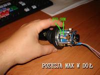 Głowica do kamery - problem ze sterowaniem