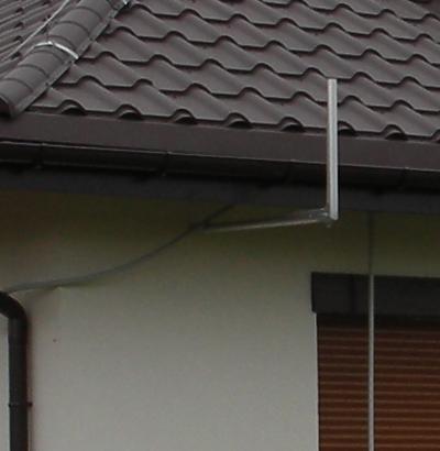 mocowanie przewodu koncentrycznego do sciany ocieplonej