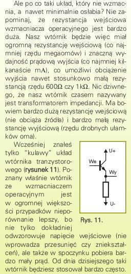 Konwersja 0...20V -> 0...5V, podział napięcia dla wejścia