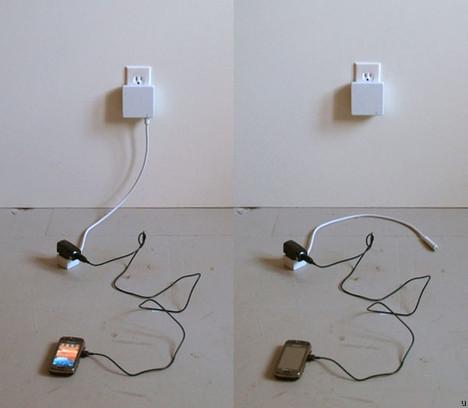 Wtyczka-pijawka oszczędza energię elektryczną
