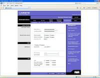 Ruter Linksys BSF SX41 dostęp z poza LAN.
