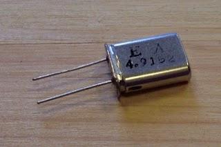 Zmienianie częstotliwości kwarcu