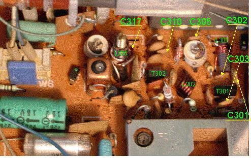 Unitra-Eltra Klaudia RMS801, przestrojenie na wysoki UKF