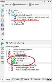 Łączenie schematów w Webpack ISE
