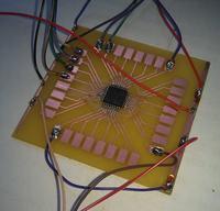 TQFP32, UQFN32- Do pobrania negatyw płytki prototypowej Atmega8, Xmega-E5 itp