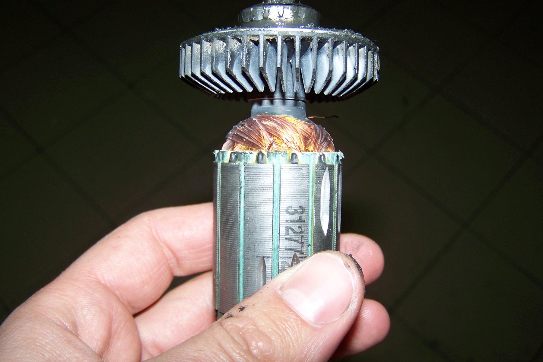 KRESS HMX 24 - Przezwojenie wirnika, ewentualnie zakup wirnika