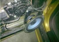 Wygłusznie drzwi i glośnik 110->165mm w Audi A3