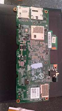 Tablet Lenovo S8-50L - Po wymianie LCD nie ładuje baterii, nie włącza się .