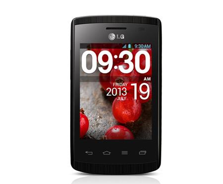 """LG Optimus L1 II - tani smartphone z 3"""" ekranem, Wi-Fi, 2 Mpix i Android 4."""