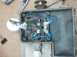 Silnik jednofazowy- brak tabliczki- po podłączeniu buczy