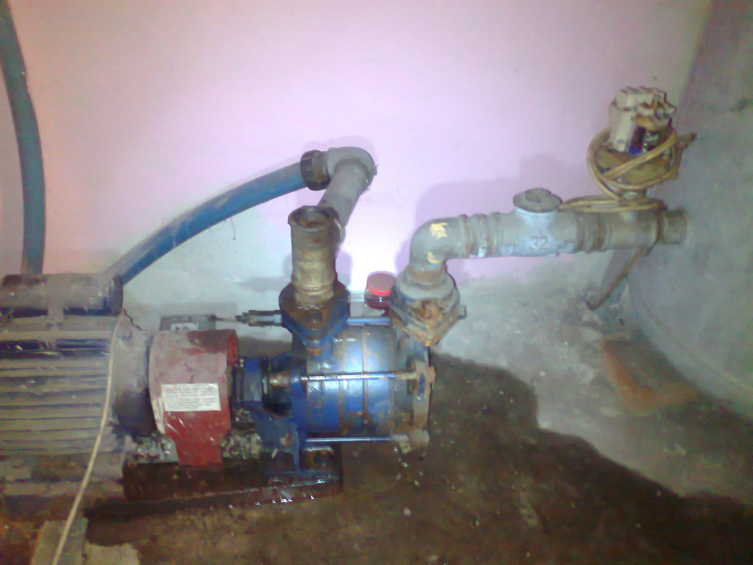 pompa hydroforowa nie nabiera wody