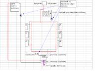 projekt centralnego ogrzewania - buduję CO z kominkiem z płaszczem oraz solarami