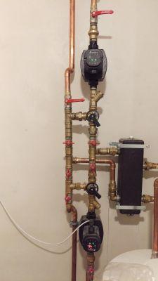 Prośba o ocenę poprawności wykonania instalacji - 2 obiegi 2 zawory 3-drożne