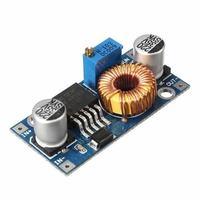 Ocena schematu: mini zasilacz DC12V -> AT (moduły ze sklepu + zabezpieczenie)