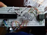 Multipleksowanie LED atmega32.
