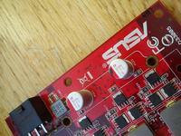 Kondensator polimerowy na karcie graficznej - czy wymienić, na jaki?