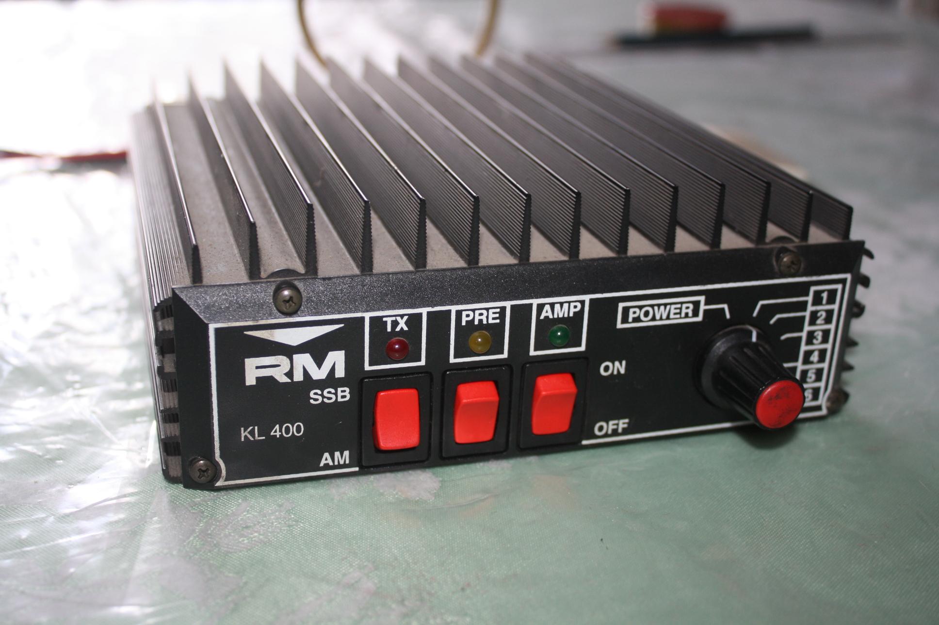 [Sprzedam] Dopa� Wzmacniacz Cb Radio KL 400 AM SSB Przedwzmacniacz Okazja