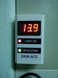Nakręcany minutnik z wyświetlaczami LED 7seg