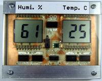 Miernik temperatury i wilgotno�ci o ultraniskim poborze pr�du