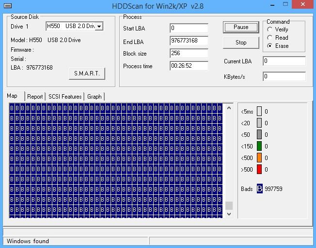 PQI HDD H550 - Komputer nie czyta dysku, czy jest ju� do wyrzucenia?