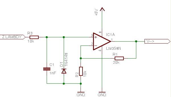 Weryfikacja schematu wzmacniacza na uk�adzie scalonym LM324