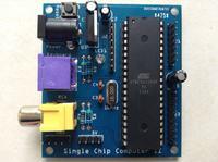Prosty komputer na bazie mikrokontrolera AVR