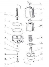 S-312 Ursus - Filtr oleju bączek na nowy typ jak to zrobić?