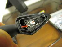 Wymiana diod led w kierunkowskazach mini Highsider Stella