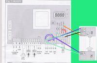 Podpięcie fotokomórek napędu bramy wahadłowej BENINCA
