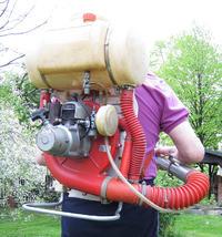 arimitsu md-35dx - Bardzo stary silnik z opryskiwacza plecakowego turbine arimit