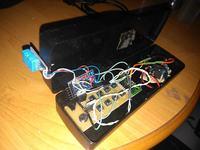 Włącznik 230V na podstawie wilgotności powietrza (z higrometrem)