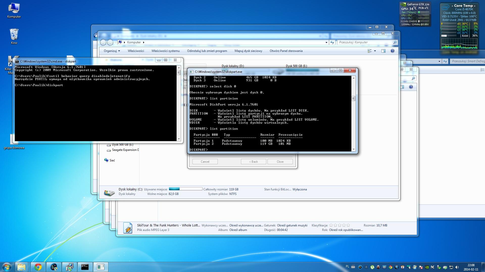 Plextor M5Pro Xtreme 128GB - Prosz� o porad� SSD Plextor M5Pro Xtreme 128GB