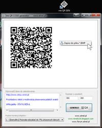 Program do generowania kod�w QR na PC