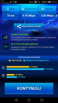 Huawei B525 z Play - co z prędkością LTE