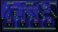 Analogowy multiplekser 32:4 z układami 74HC4051