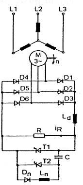 Regulacja obrotów silnika pierścieniowego 2.2 kW, 3 fazowego.