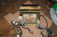 Mostek Greatza z 2 diod i 2 tyrystorów i dławik do spawarki 230V.