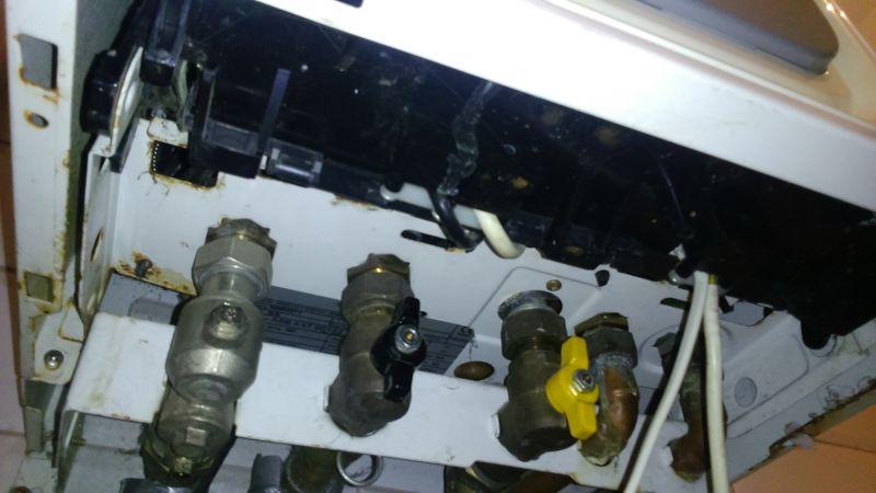 Piec Beretta 24 Si , spadek ciśnienia