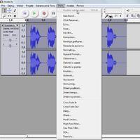 Edycja audio - Wo Mic, nagranie z mikrofonu, wype�nienie postrz�pionych s��w