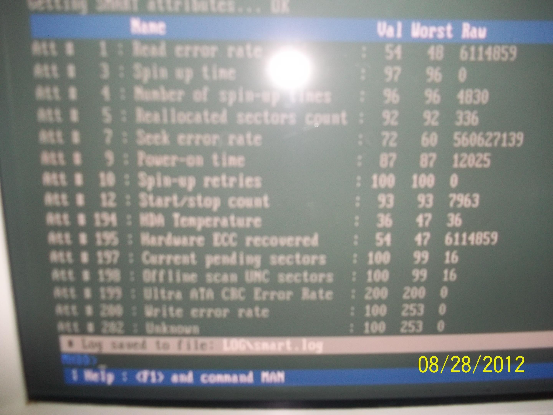 PC GA k8-NS - Bluescreen przy naprawie i pr�bie instalacji windows xp