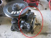 mercedes w123 - pompa wspomagania