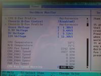 Wysoka temperatura p�. g�. - Nag�y, sta�y skok temperatury Asus M2N-e