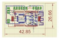 Czujnik pulsu człowieka z transmisją danych Bluetooth