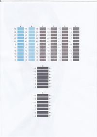 Canon pixma mg7150 - Cienkie paski na wydruku