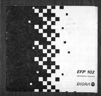 Elektrostatyczny Filtr Powietrza EFP-102 firmy Diora - instrukcja PL