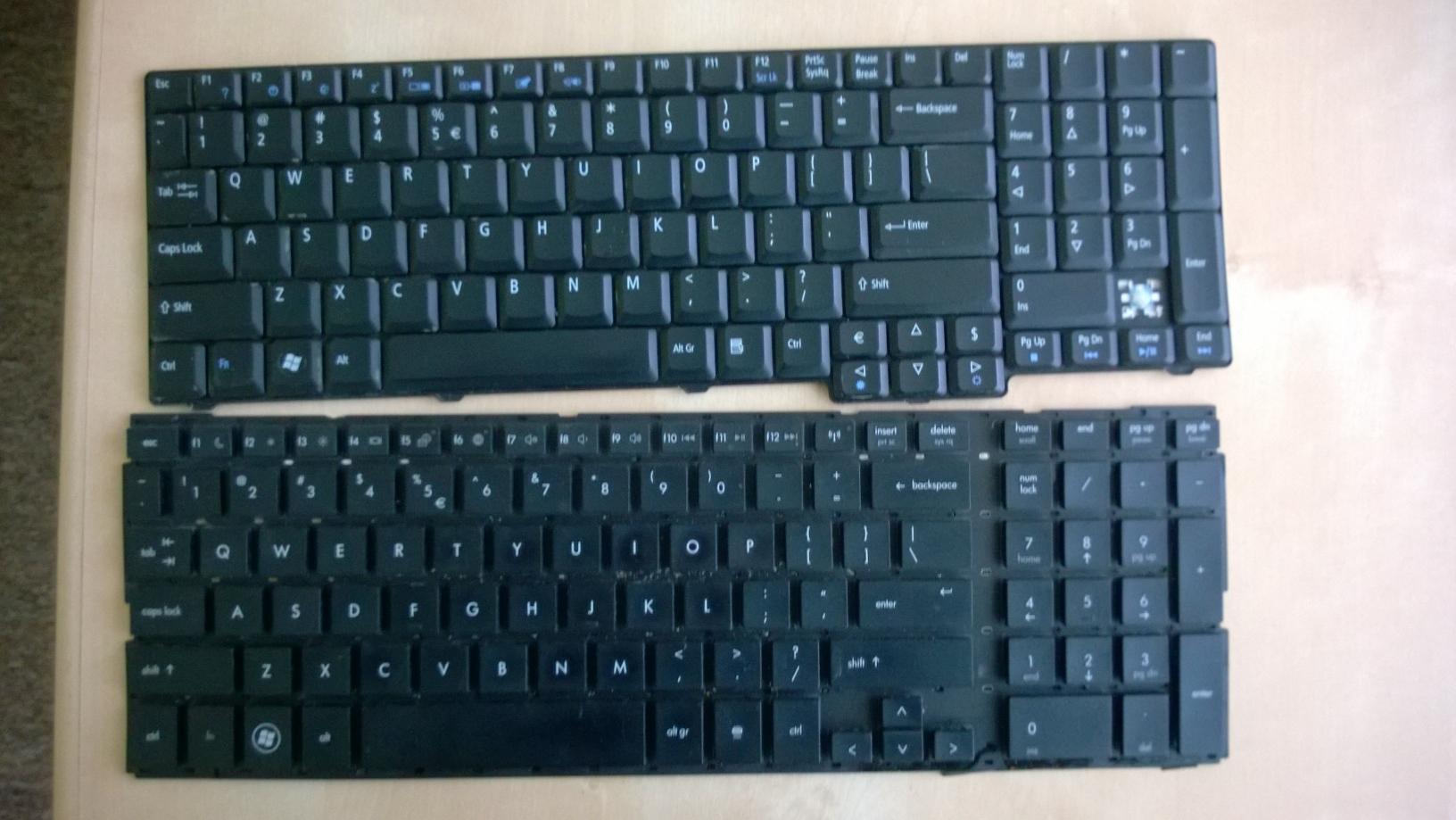 [Sprzedam] Sze�� uszkodzonych klawiatur na klawisze