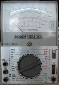 1200 ROBIN MEM - Szukam instrukcja i schematu