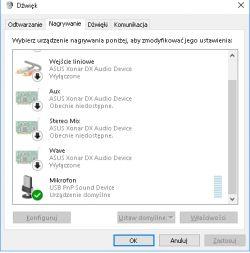 Windows 10 Redstone 4 nie działa pilot i mikrofon w słuchawkach USB