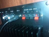 Subwoofer Koda SW-550 v.2 - jak podłączyć kolumny głośnikowe?
