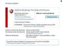 Błąd Windows Update - Błąd 800B0100 - nie instaluje aktualizacji